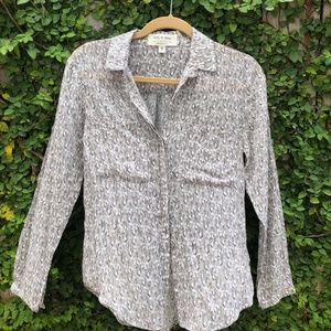 Cloth and Stone Printed Button Up
